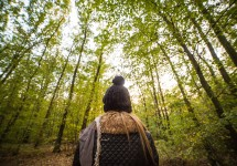 young-woman-walking-through-the-forest-picjumbo-com
